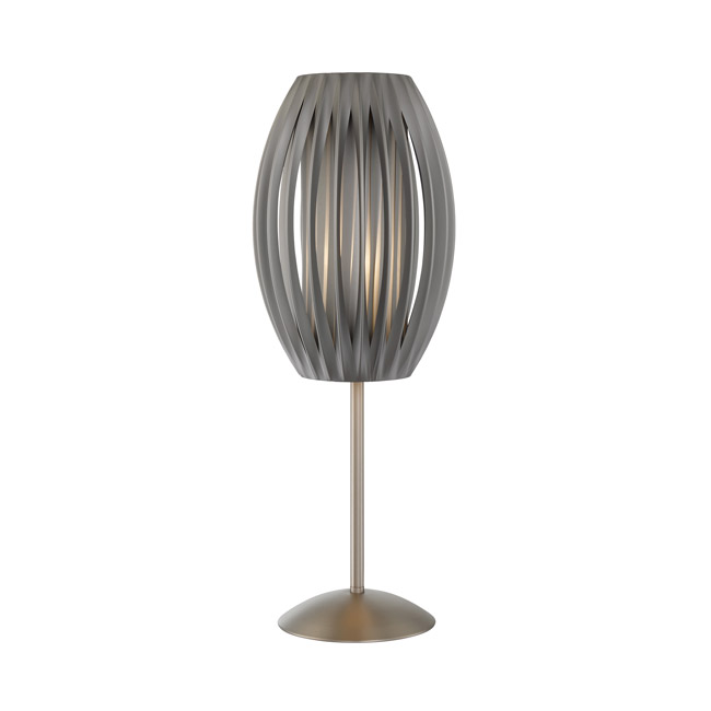 Silo Grey Table Lamp